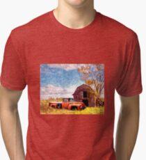 """Rural Americana"" Tri-blend T-Shirt"