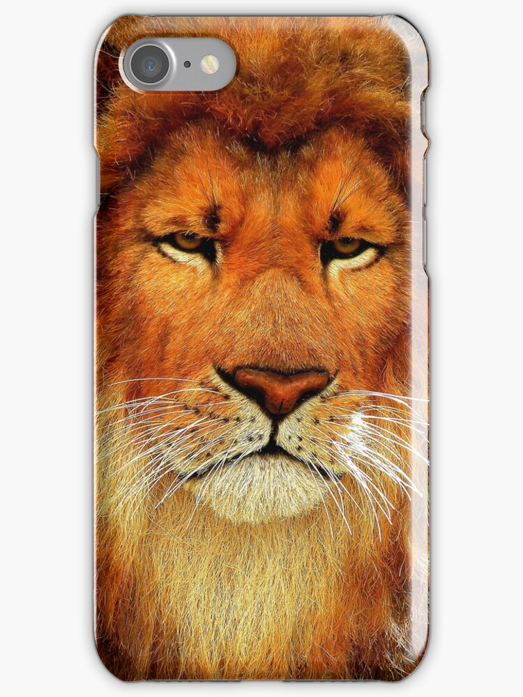 Be A Lion iPhone Case by artisandelimage