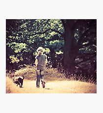 Kitty and Casper Photographic Print