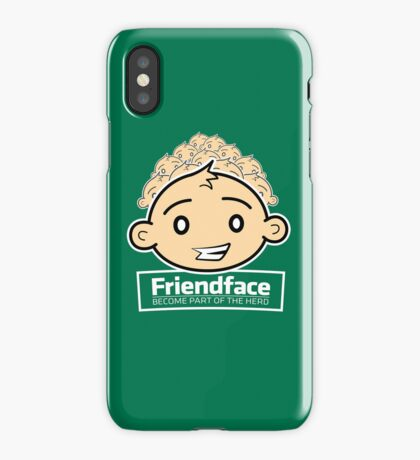 Friendface iPhone Case