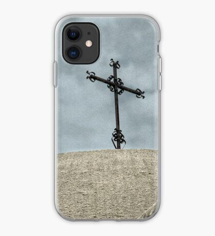 Mission Cross on Dome - iPhone Case iPhone Case