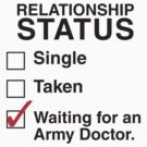 WAITING FOR AN ARMY DOCTOR by thischarmingfan