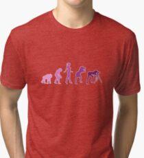Girl Photographer Evolution Tri-blend T-Shirt