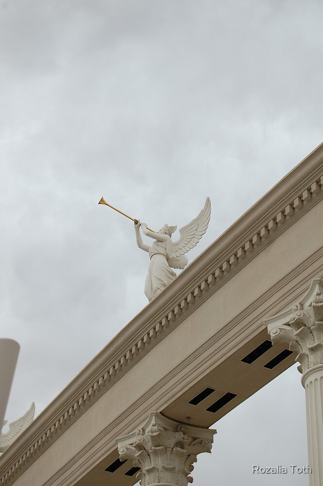 An Angel at Caesars Palace by Rozalia Toth