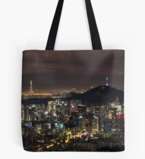The city of lights Tote Bag