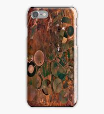 """""""Circles On Earth"""" - phone iPhone Case/Skin"""