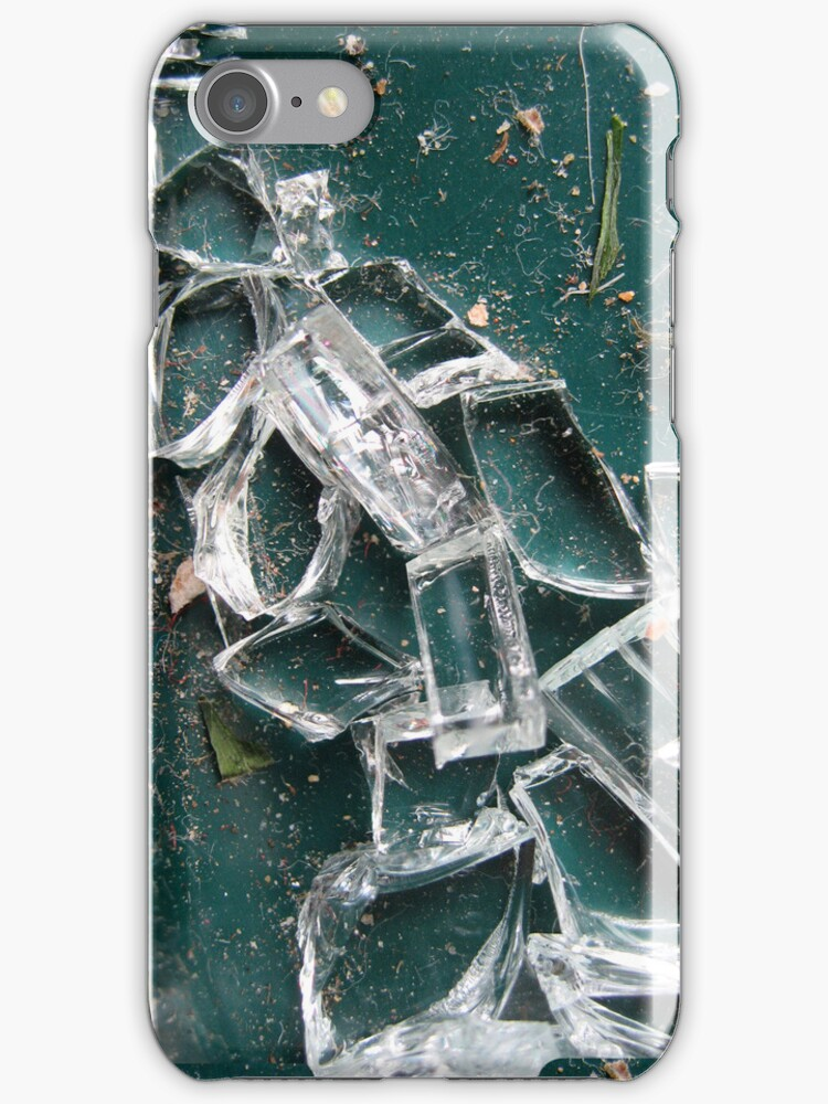iPhone Case - Broken Glass by Orla Cahill Photography