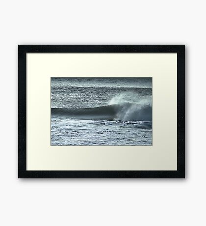 Late Afternoon Breakers Framed Print