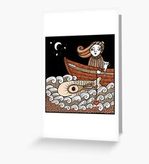 Floras Fantasy Fish (Fittie) Greeting Card