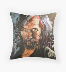 Portrait of Sirius Black Throw Pillow