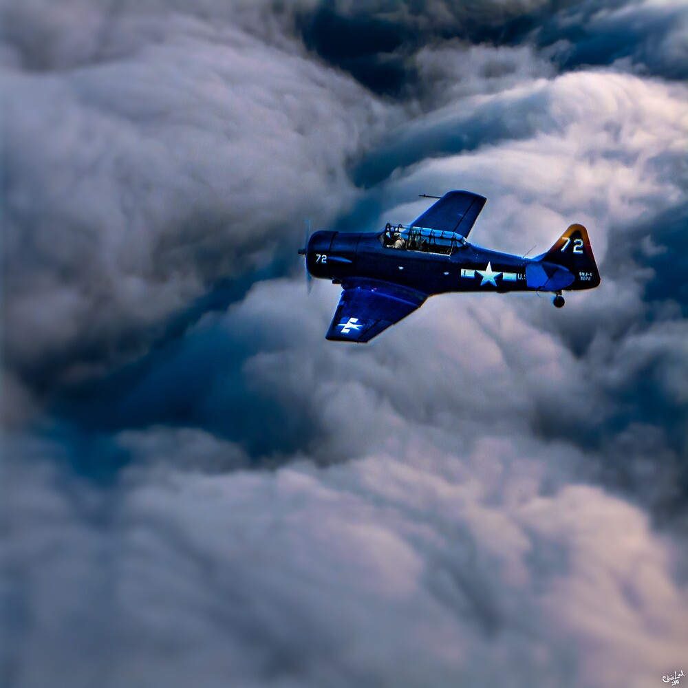North American Aviation T-6 Texan by Chris Lord
