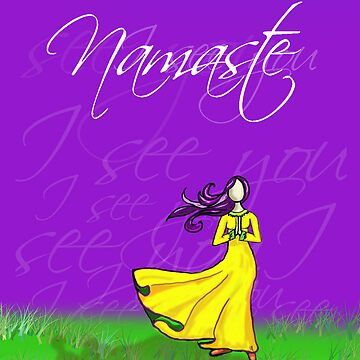 Namaste I see you by CCWriter