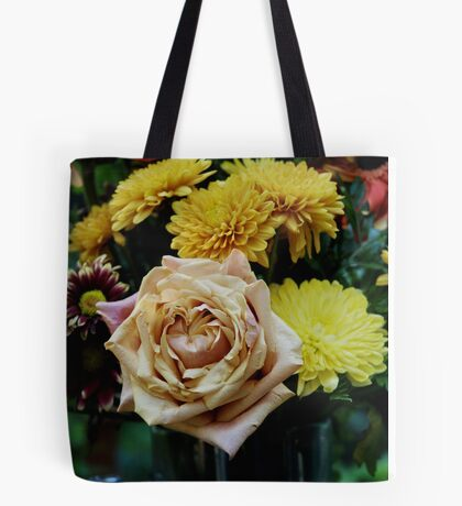 Bouquet with Rose Tote Bag