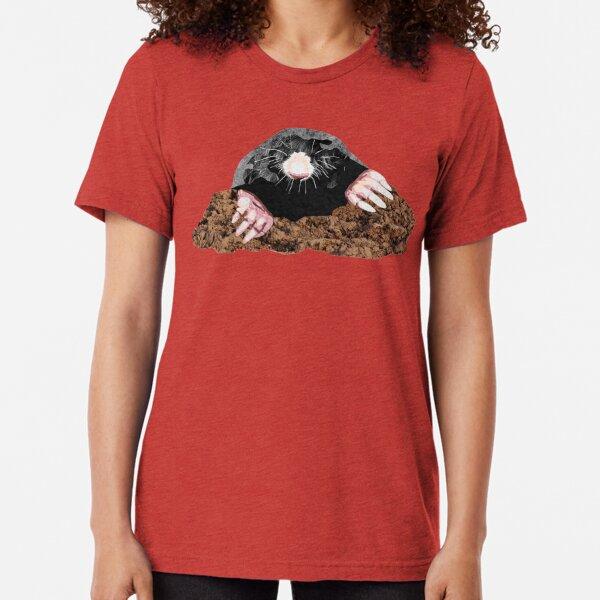 Mole - Laudea Martin Tri-blend T-Shirt