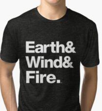 Earth Wind & Fire Classic Soul Merch Tri-blend T-Shirt