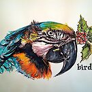 Christmas bird. Elizabeth Moore Golding© by Elizabeth Moore Golding