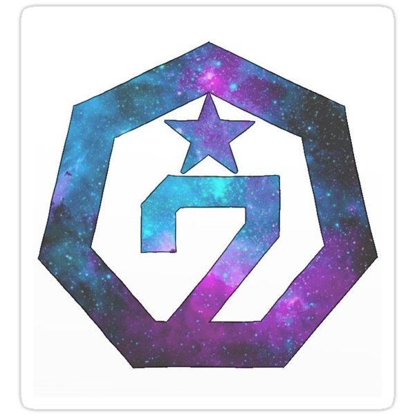 Quot Got7 Galaxy Logo Ver 2 Quot Stickers By Nicki17 Redbubble