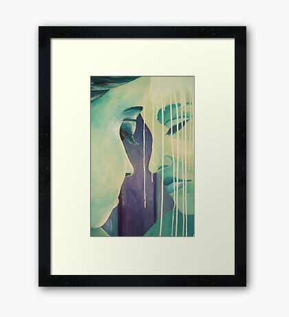 Reflections and memories Framed Print