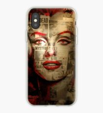 Red Marilyn iPhone Case
