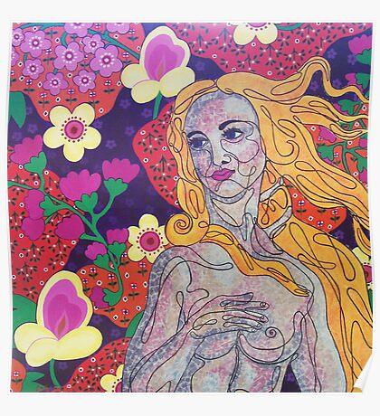 Venus goes Retro Poster