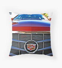 Cadillac Car Throw Pillow