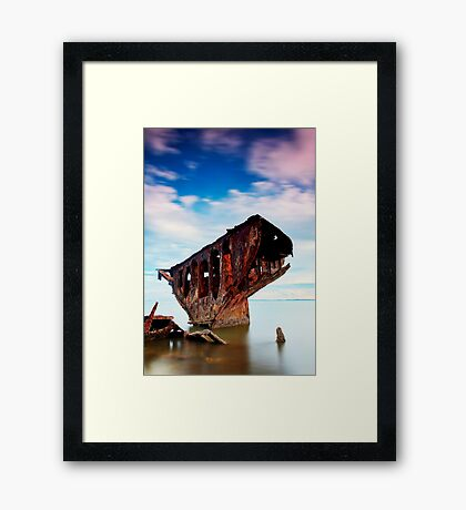 Entrenched Framed Print