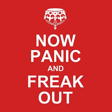 now panic and freak out by OTBphotography