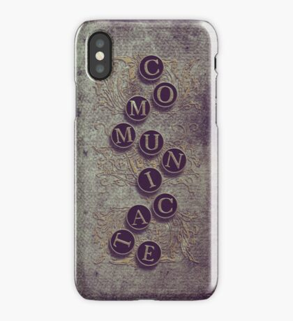 Communicate - iPhone case iPhone Case