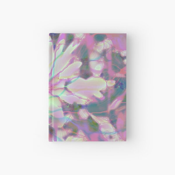 Floral abstraction Hardcover Journal