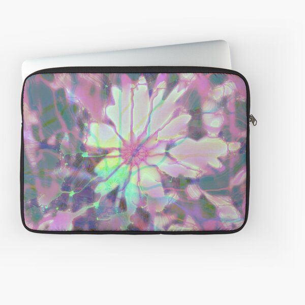 Floral abstraction Laptop Sleeve