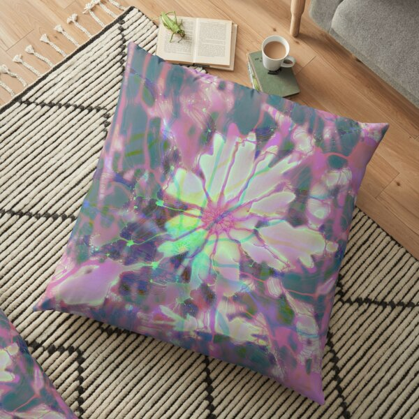 Floral abstraction Floor Pillow