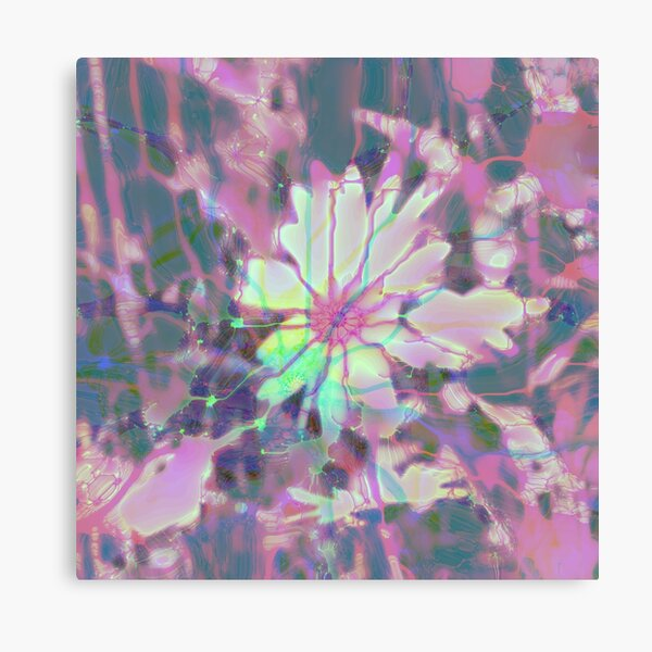 Floral abstraction Canvas Print