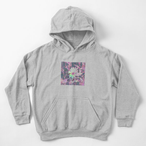 Floral abstraction Kids Pullover Hoodie