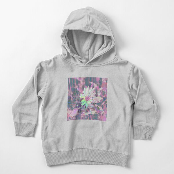 Floral abstraction Toddler Pullover Hoodie