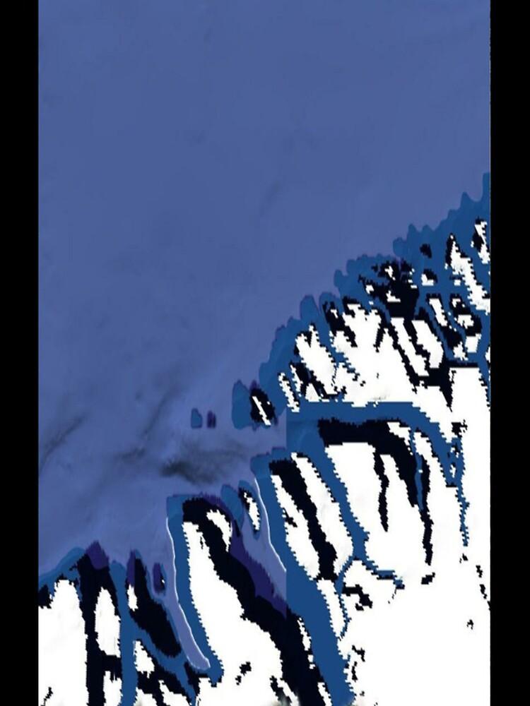 """Ocean Meets Ice"" - phone by michellelee"