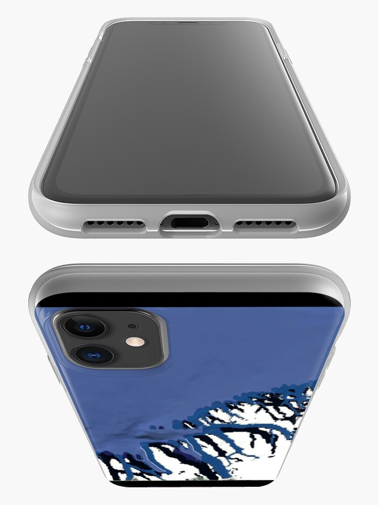 """Alternate view of """"Ocean Meets Ice"""" - phone iPhone Case & Cover"""