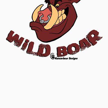 Wild Boar by mancerbear