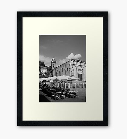cityscapes #225, all waiting Framed Print