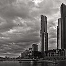 Another Southbank Storm - Melbourne by Norman Repacholi