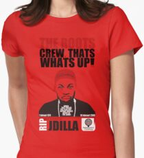 TRIBUTE TO THE GREAT J DILLA Womens Fitted T-Shirt