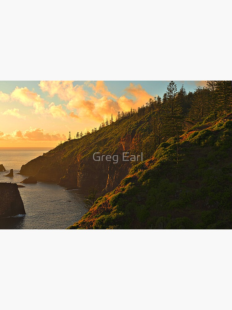 First Light - Norfolk Island by GregEarl