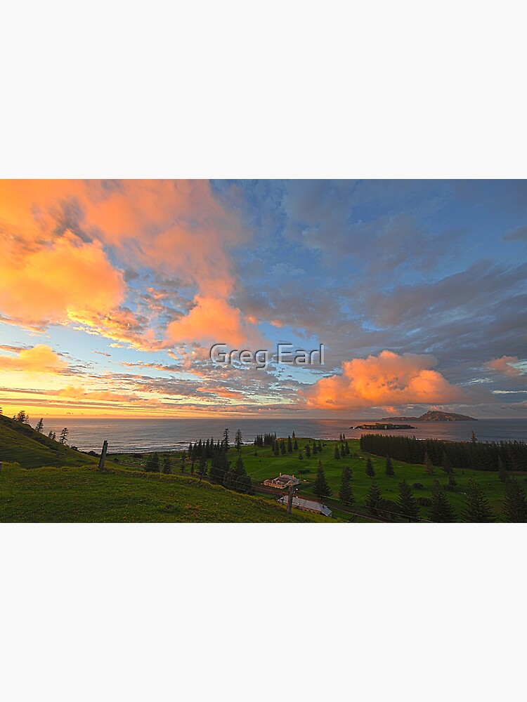 Sunrise, Kingston - Norfolk Island by GregEarl