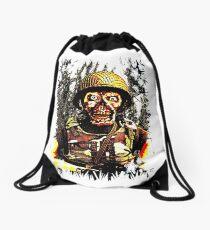 Zombie Squad Drawstring Bag