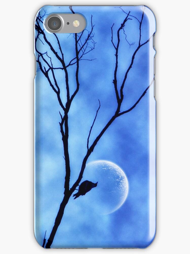MoonBird iPhone 4S Case by webgrrl