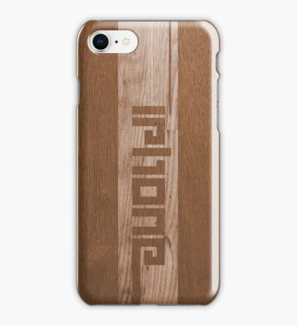 Two-tone Wood Effect iPhone Case/Skin