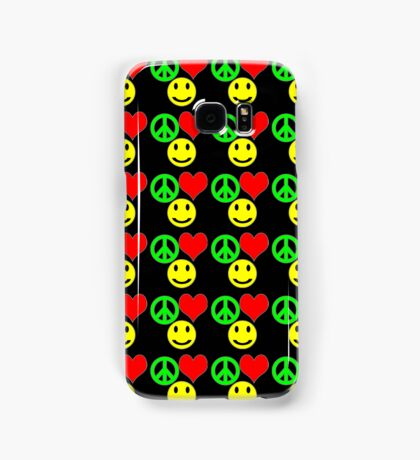 peace, love and happiness i-phone Samsung Galaxy Case/Skin