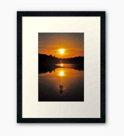Multi-Orb Illusion Framed Print