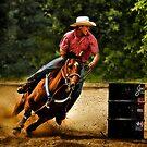 Barrel Racer by Sue Ratcliffe