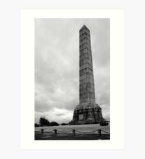 Dover Patrol Memorial, St Margarets Bay, Kent Art Print