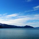 Blue day in the Fjords by Sarah Jane Bingham